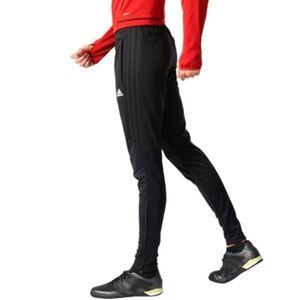 Adidas Tiro 17 Black on Black Soccer Pants